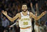 S.Curry po keturių mėnesių pertraukos grįžo į aikštę