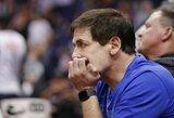 """M.Cubano spėjimas: """"NBA sezonas sugrįš iki birželio mėnesio"""""""