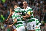 "Pirmieji į UEFA Čempionų lygą iškopė Glazgo ""Celtic"""