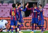 "Dominavusi ""Barcelona"" nepaliko šansų ""Osasuna"" futbolininkams"