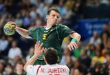 Stebuklingas N.Atajevo žaidimas padėjo Bresto komandai švęsti pergalę EHF rankinio taurės atrankoje
