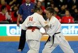 Lietuvos karatė meistrai kovos dėl kelialapių į pasaulio čempionatą