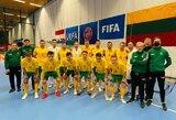 Lietuvos salės futbolo rinktinė darkart nusileido Nyderlandams