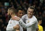 """Grandiozinis planas: ar """"Real"""" puolamąjį trio pakeis E.Hazardas, Neymaras ir R.Lewandowskis?"""