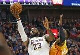 """""""Lakers"""" lengvai susitvarkė su """"Jazz"""""""