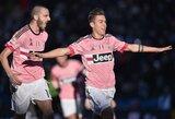 """Čempionai nesustoja: """"Juventus"""" klubas išvykoje sutriuškino """"Udinese"""""""