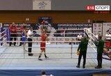 Europos jaunių bokso čempionate – S.Zeleneko ir J.Savicko pergalės