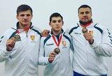Iš pasaulio kariškių imtynių čempionato lietuviai parsivežė tris medalius