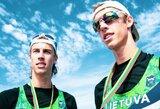Broliai Stankūnai Europos jaunimo irklavimo čempionato A finale liko penkti
