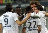 PSG futbolininkai apgynė Prancūzijos čempionų titulą!