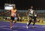 Y.Blake'as aplenkė U.Boltą ir pasiekė geriausią sezono rezultatą pasaulyje