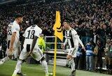 """M.Allegri spėlioja: """"C.Ronaldo nebus nubaustas dėl """"cojones"""" gesto"""""""