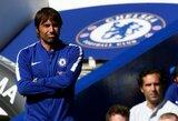 "A.Conte tikisi, kad ""Chelsea"" ambicijos privers E.Hazardą pasilikti"