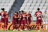 """""""Serie A"""" lygos sezono finišo tiesiojoje – """"Juventus"""" kluptelėjimas ir """"Inter"""" pergalė"""