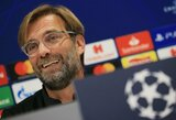 """J.Kloppas apie laukiantį aštuntfinalio mūšį su """"Bayern"""": """"Dvikova bus sunki, tačiau įdomi"""""""