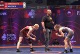 V.Danisevičiūtei nepavyko iškovoti Europos jaunių imtynių čempionato bronzos