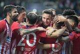"""FIFA nubaudė """"Atletico"""" už trečiųjų šalių įsikišimą pasirašant kontraktus"""