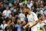"""K.Benzema: """"Dėl manęs tandemas su C.Ronaldo ir G.Bale'u taip gerai veikė"""""""