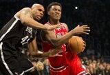 """Gražiausias NBA dienos epizodas – nuostabi """"Bulls"""" ataka"""