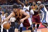 """""""Cavaliers"""" atsitiesė ir parodė pavyzdinę gynybą"""