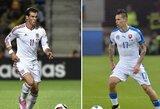 EURO 2016 debiutantų mūšis: Velsas – Slovakija