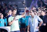 Po triumfo Prancūzijoje – R.Berankio šuolis į viršų ATP vienetų reitinge