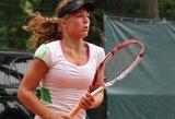 Lietuvės baigė pasirodymą ITF jaunių teniso turnyre Slovakijoje