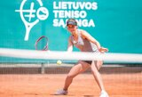 Chaotiškai vykstančiame ITF turnyre Antalijoje J.Mikulskytė žengė į ketvirtfinalį (papildyta)