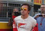 """F.Alonso: """"Kova dėl titulo vyks iki sezono pabaigos"""""""