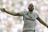 """K.Benzema širsta ant jo formą sukritikavusio Prancūzijos futbolo federacijos prezidento: """"Palikite mane ramybėje!"""""""