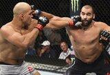 """""""UFC Fight Night 133"""": buvęs UFC sunkiasvorių čempionas J.Dos Santosas po penkių raundų kovos nugalėjo B.Ivanovą"""