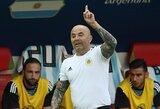 Oficialu: Argentina ir J.Sampaoli suka skirtingais keliais