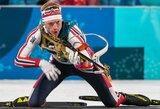 Pasaulio biatlono taurės estafetėje – norvegų pergalė ir beveik pusė ratu aplenktų komandų