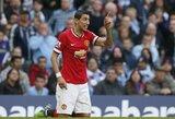 """A.Di Maria prisiminė laikus """"Manchester United"""" gretose: """"Jie man davė 7 numerį, neturėjau jokio pasirinkimo"""""""