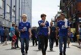 """""""Everton"""" pergalę paženklino fano mirtis stadione"""