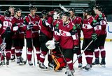 """Baltijos ledo ritulio taurės turnyro etapą Klaipėdoje laimėję latviai """"nušlavė"""" estus"""