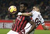 """""""AC Milan"""" ir """"Torino"""" komandų akistata baigėsi be įvarčių"""