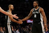 """K.Leonardas – atsiskyręs nuo """"Spurs"""" organizacijos"""