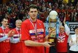 CSKA pratęsė kontraktą su V.Khryapa