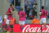 """""""Malaga"""" klubas atsitiesė ir išvykoje įveikė """"Espanyol"""""""