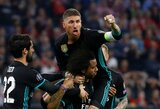 """S.Ramosas: """"Pergalės Čempionų lygoje turbūt yra vertingesnės, nei """"Barcelonos"""" titulai Ispanijoje"""""""
