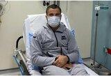 """Sunkiai susirgęs Ch.Nurmagomedovo pusbrolis išgabentas į ligoninę: """"UFC 254"""" turnyre jis nekovos"""
