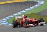 Vokietijos GP lenktynėse nugalėjo F.Alonso