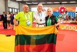 Pirmasis Lietuvos medalis Europos jaunimo olimpiniame festivalyje