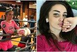 """Rusijos gražuolė vos po 2 karjeros kovų sulaukė kvietimo į """"Bellator"""""""