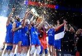 Serbijos tinklininkai trečią kartą tapo Europos čempionais