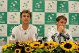R.Berankis ir L.Grigelis ATP vienetų reitinge prarado po vieną poziciją