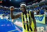 Smūgis Turkijos rinktinei: B.Dixonas praleis Europos čempionatą