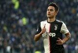 """""""Goal"""": P.Dybala pasirašys su """"Juventus"""" naują pelningą kontraktą"""