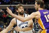P.Gasolis svarstys keturių NBA klubų pasiūlymus